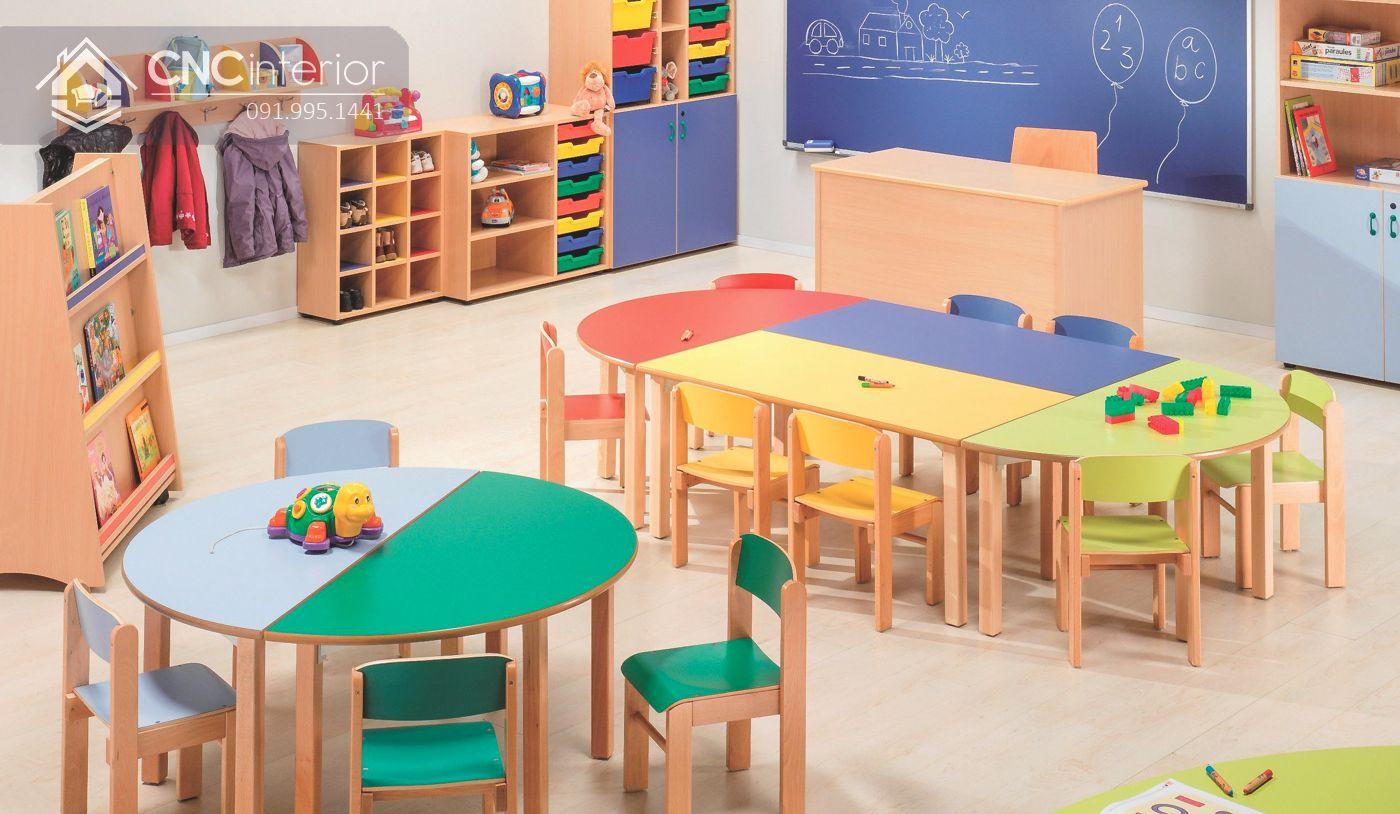 thiết kế nội thất trường mầm non 6