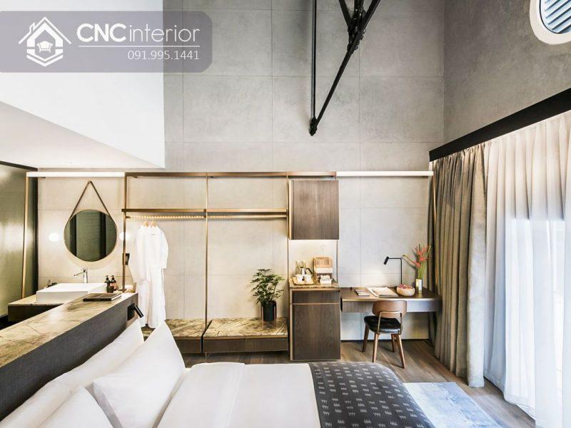 Tủ quần áo khách sạn CNC 02