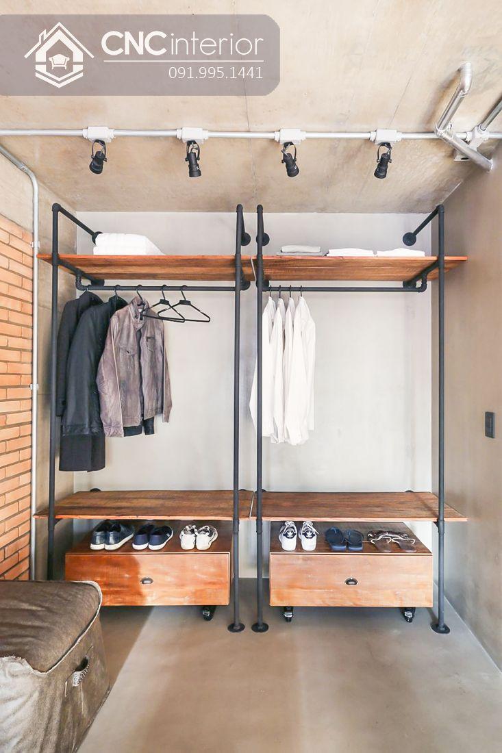 Tủ quần áo khách sạn CNC 08