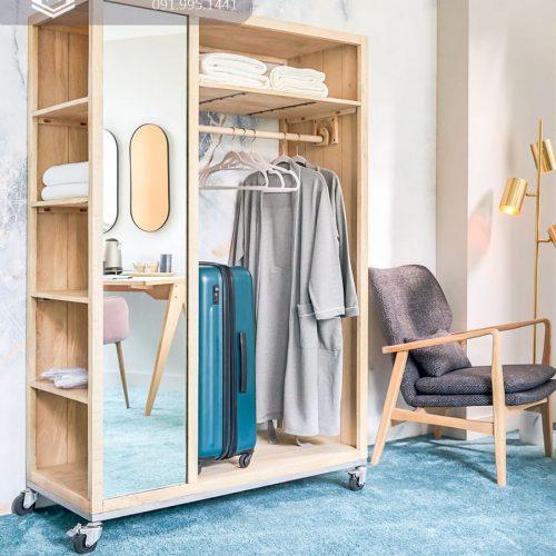 Tủ quần áo khách sạn CNC 09