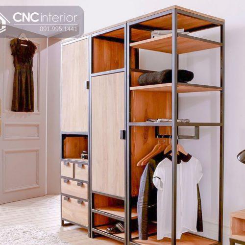 Tủ quần áo khách sạn CNC 37