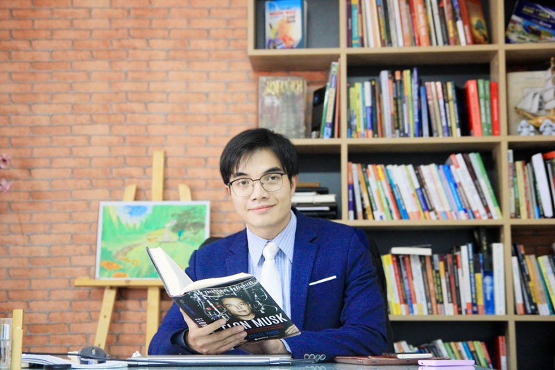 CEO Nguyễn Mạnh Hà