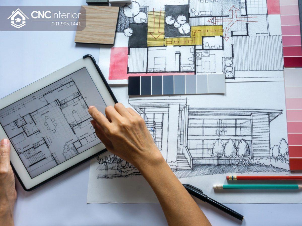 Có nên thuê thiết kế nội thất- sự chuyên nghiệp của công ty CNC