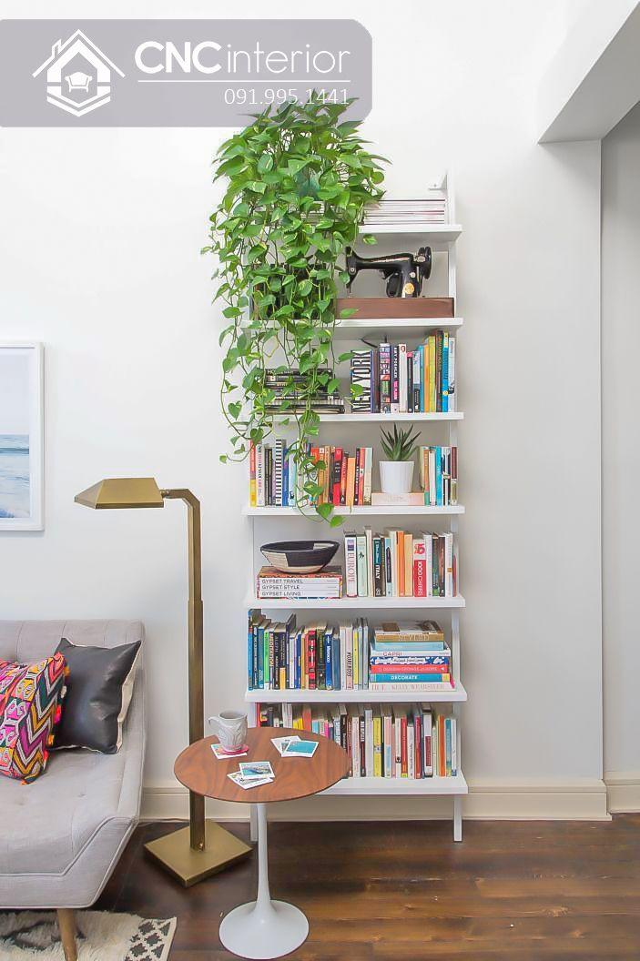 Tủ sách văn phòng được thiết kế đơn giản