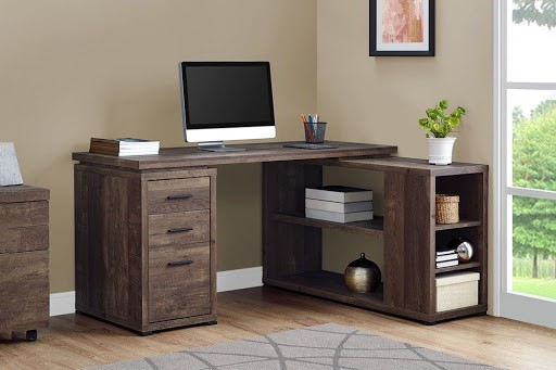 Mẫu bàn này sẽ phù hợp với những phòng làm việc có diện tích rộng, thoáng