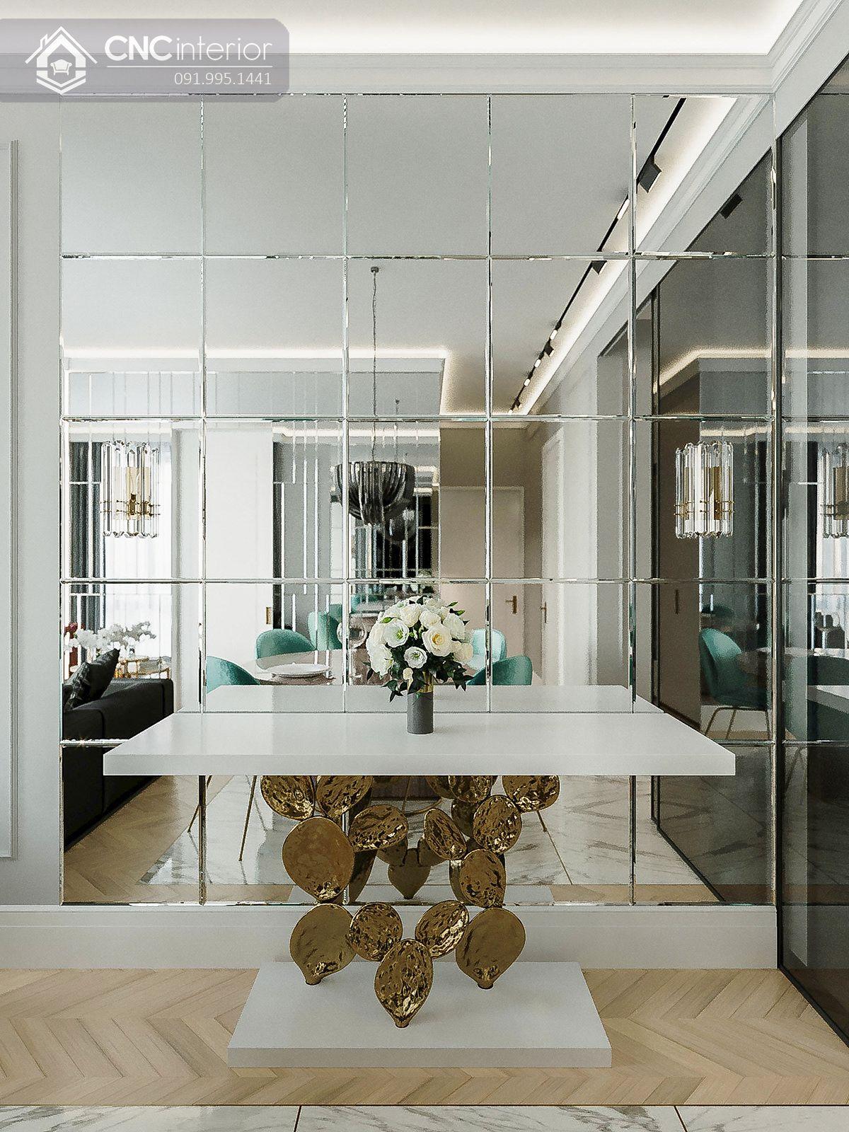 nhà đẹp, thoáng nhờ mặt kính gương 18