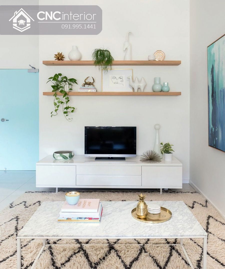 Cách trang trí cây xanh trong nhà (3)
