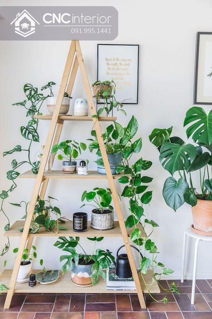 Cách trang trí cây xanh trong nhà (19)