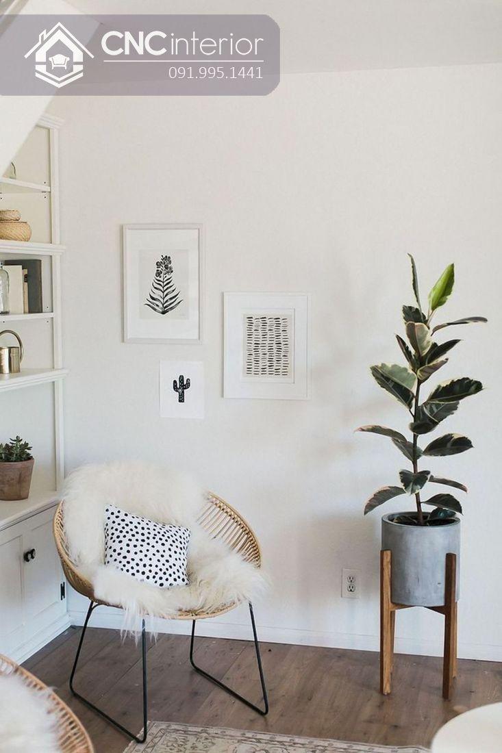 Cách trang trí cây xanh trong nhà (20)