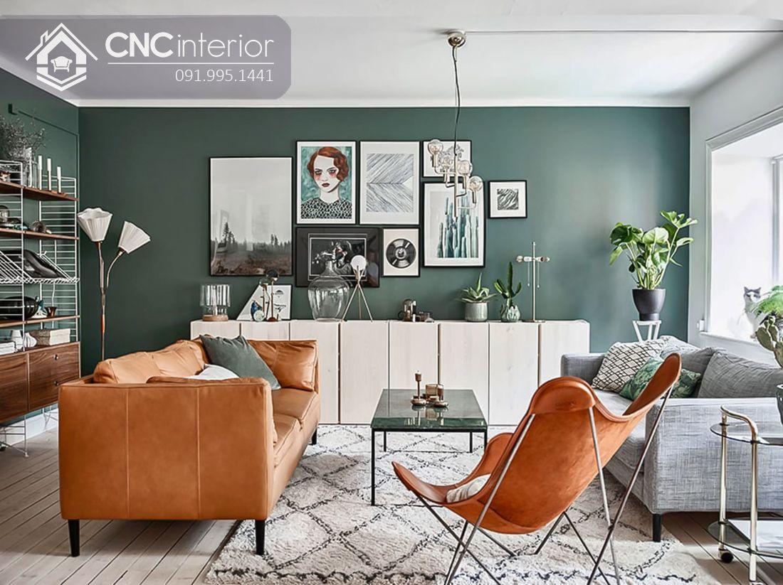 Cách trang trí cây xanh trong nhà (8)