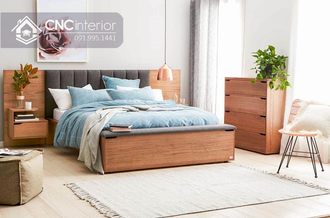 Giường ngủ đẹp CNC 66