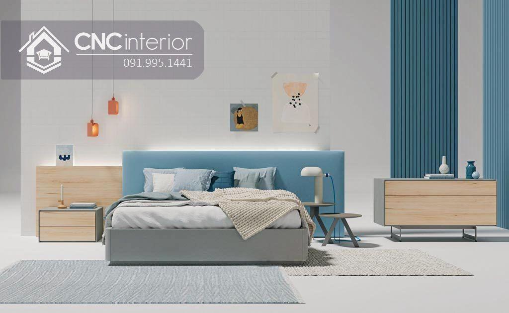 Giường ngủ đẹp CNC 67