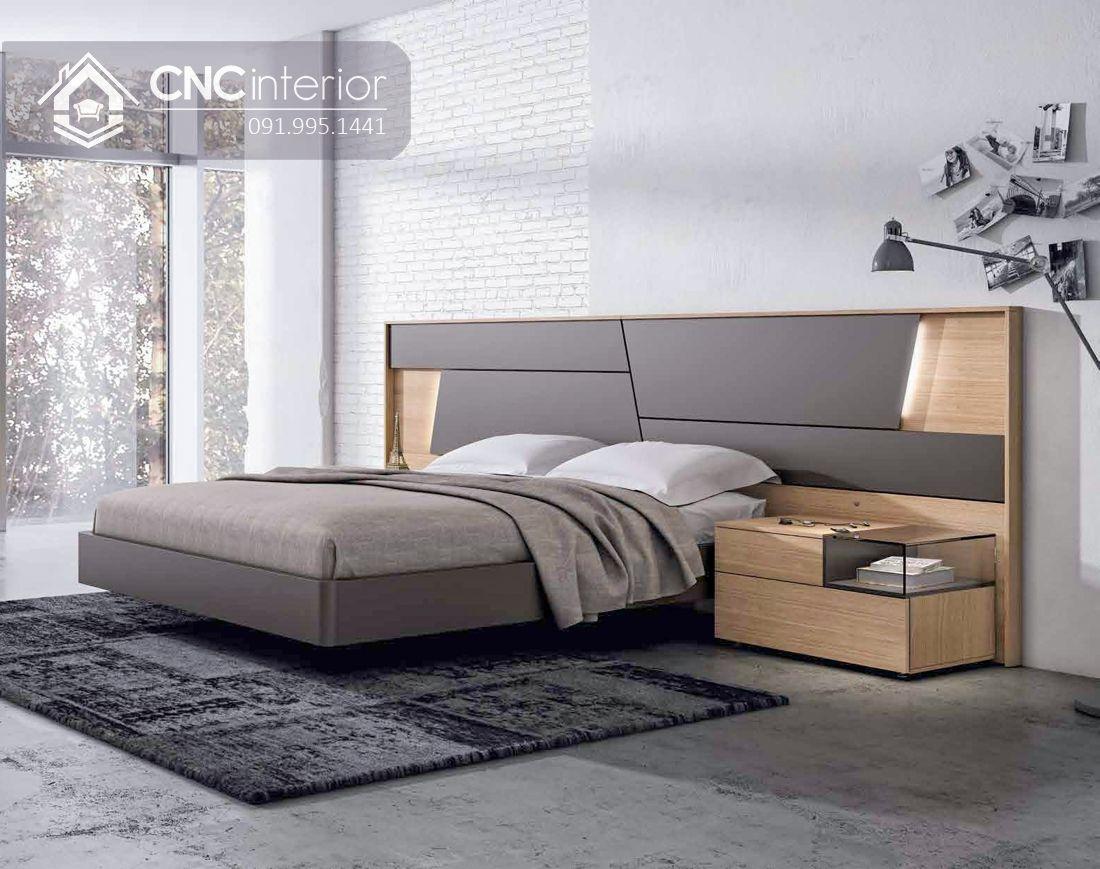 Giường ngủ đẹp CNC 68