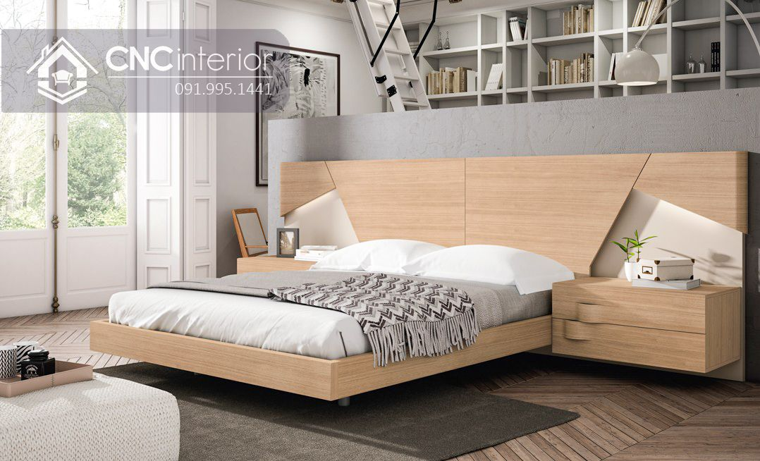 Giường ngủ đẹp CNC 70