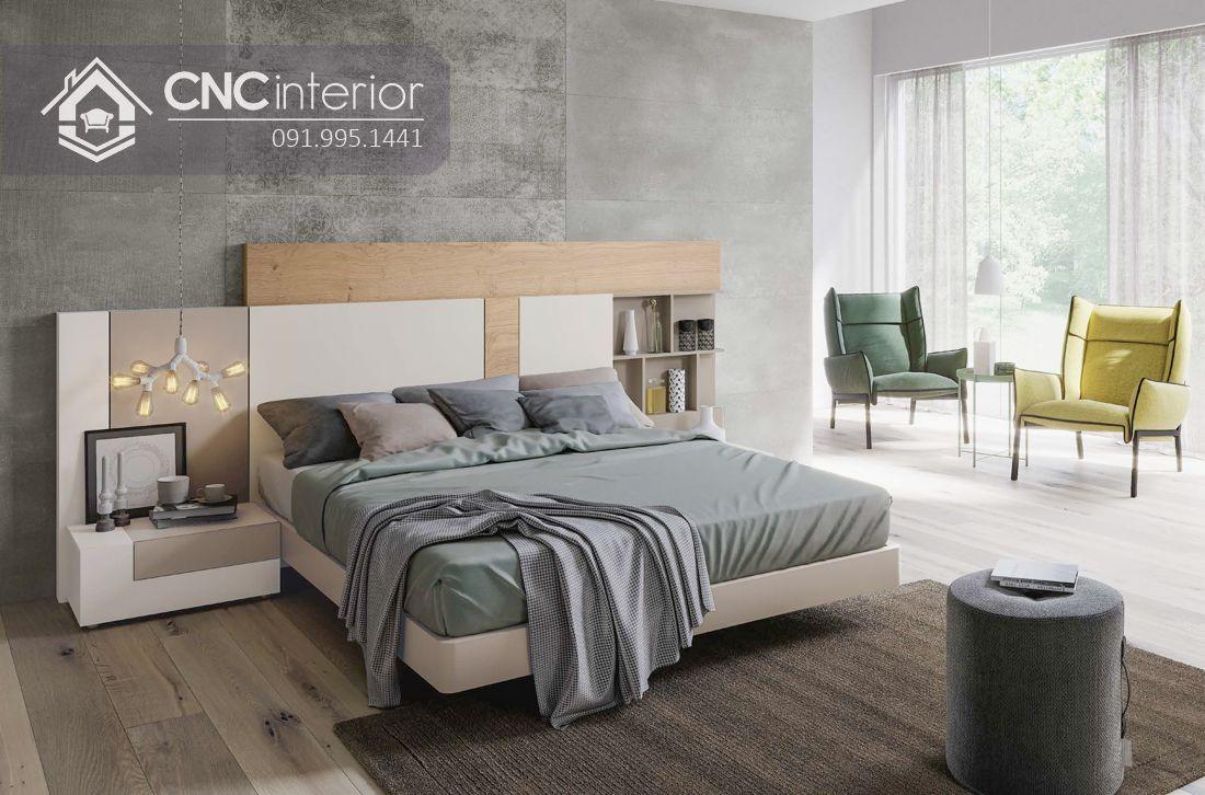 Giường ngủ đẹp CNC 71