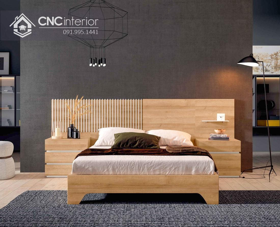 Giường ngủ đẹp CNC 72