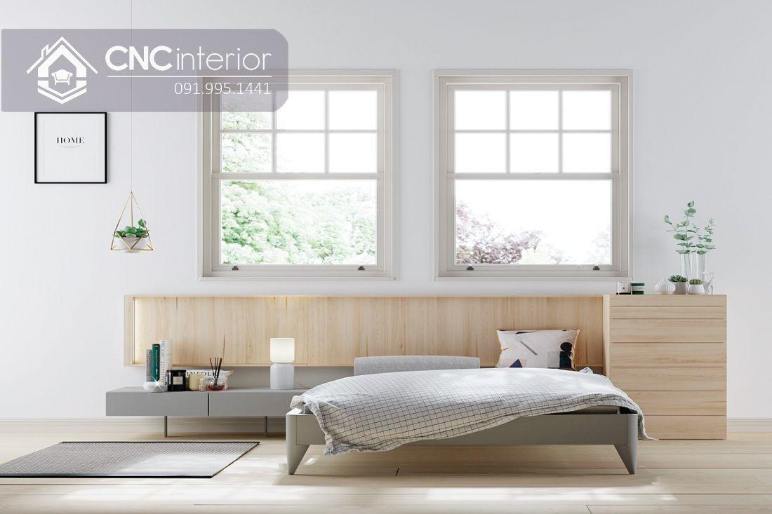 Giường ngủ đẹp CNC 52