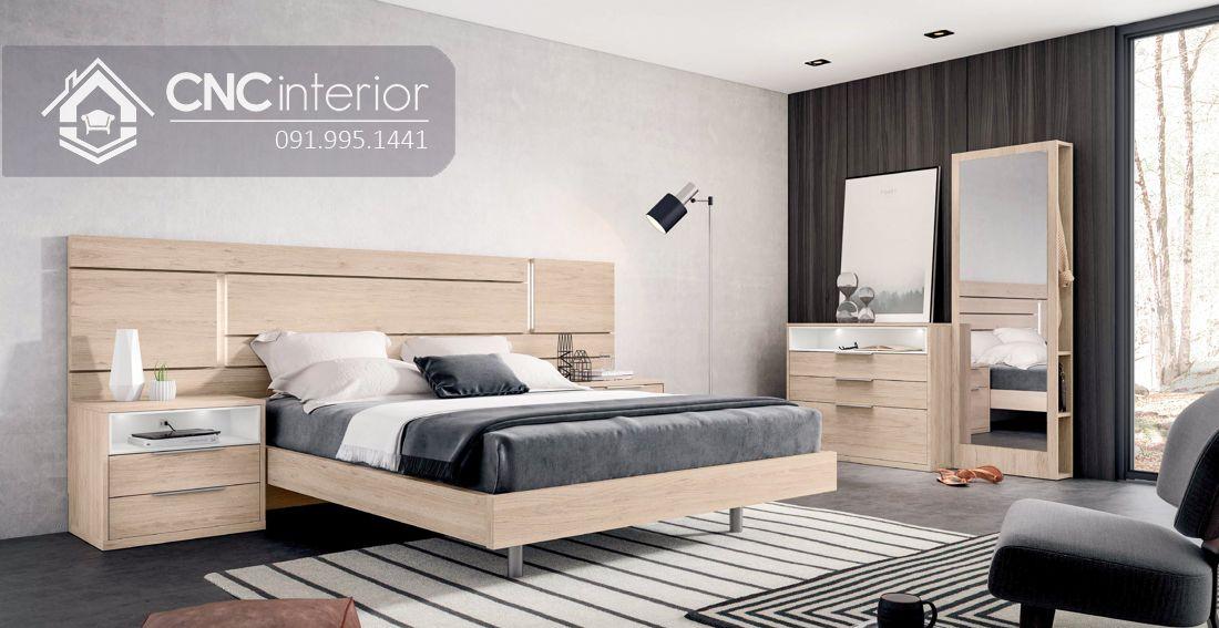 Giường ngủ đẹp CNC 57