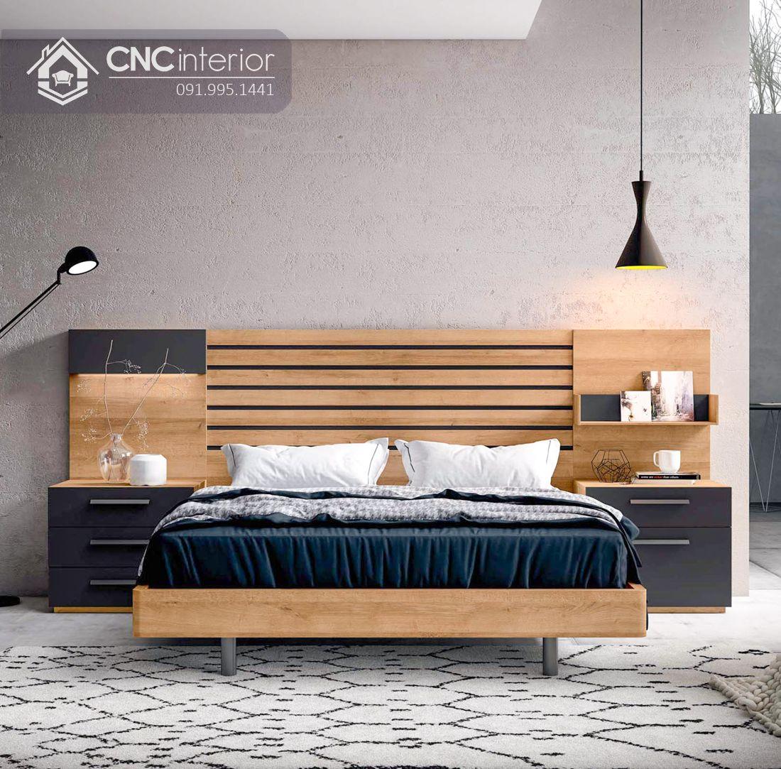 Giường ngủ đẹp CNC 61