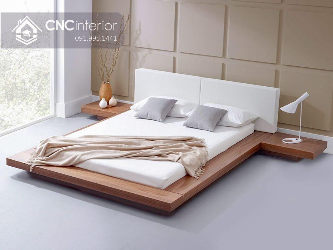 Giường ngủ đẹp CNC 62