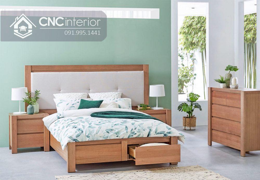 Giường ngủ đơn có ngăn kéo tiện ích CNC 63 2
