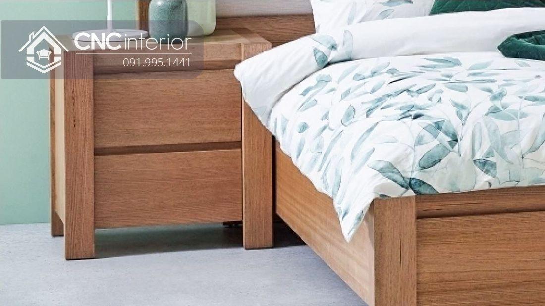 Giường ngủ đơn có ngăn kéo tiện ích CNC 63 3