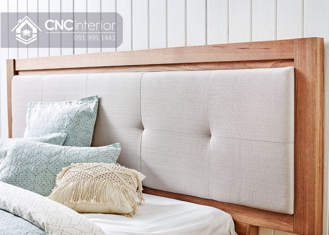 Giường ngủ đơn có ngăn kéo tiện ích CNC 63 1