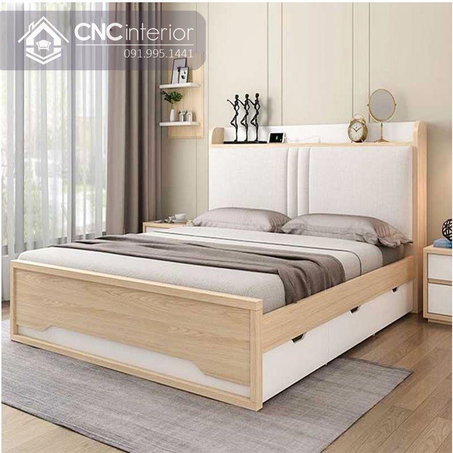 Giường ngủ gỗ công nghiệp có ngăn kéo (5)