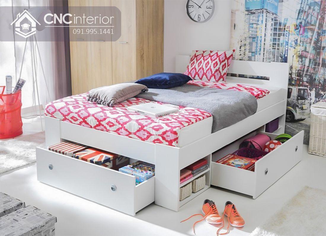 Giường ngủ gỗ công nghiệp có ngăn kéo (2)