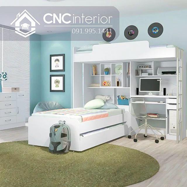 Giường ngủ kết hợp bàn học (1)