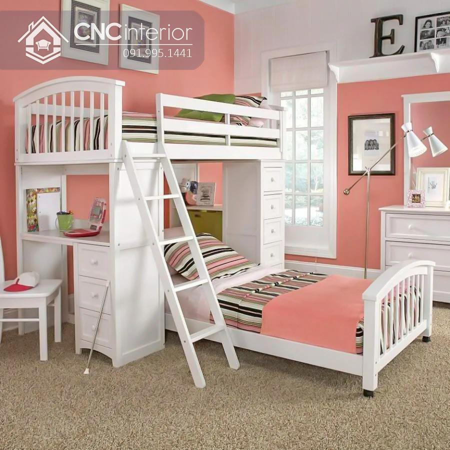 Giường ngủ kết hợp bàn học (2)