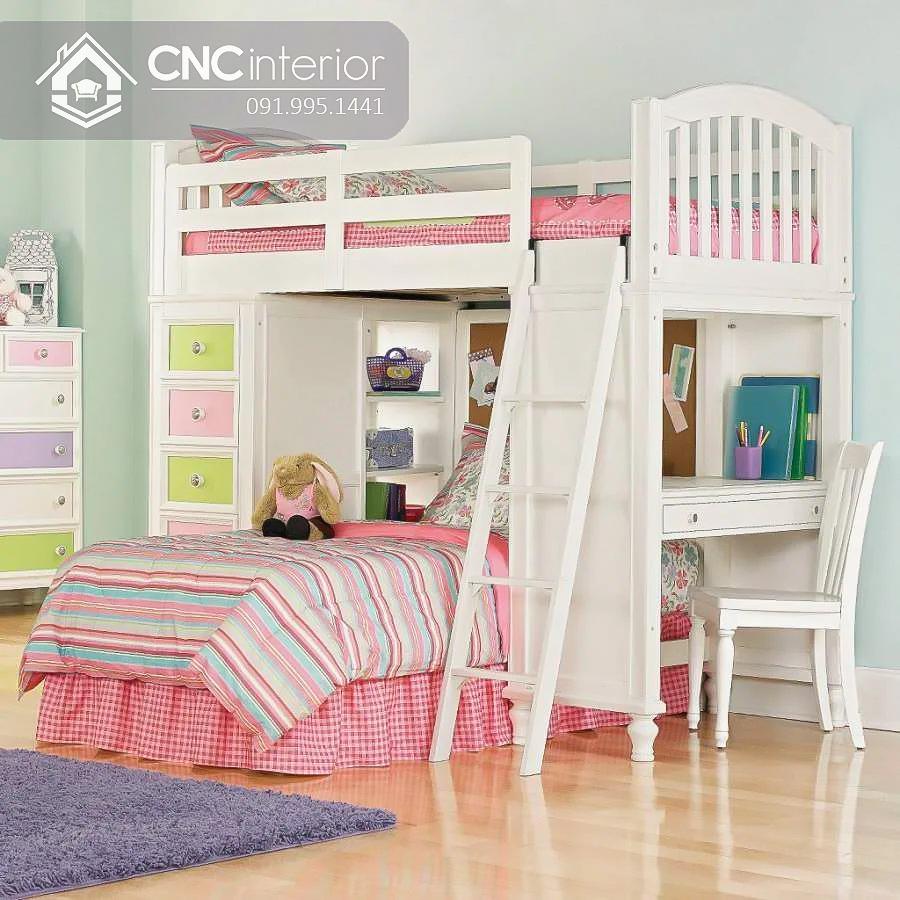 Giường ngủ kết hợp bàn học (7)