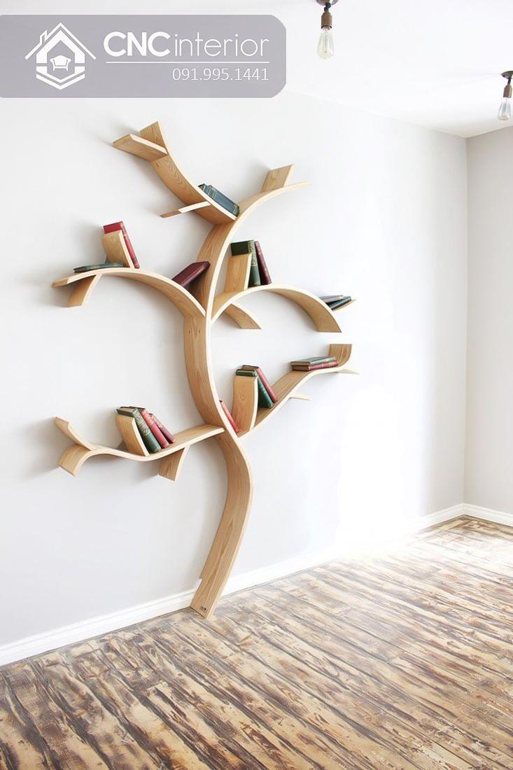 Kệ sách hình cây 10-1