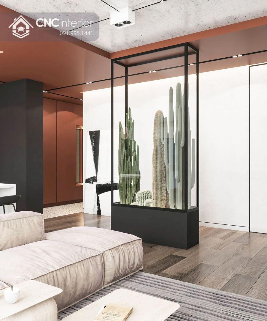 Phòng khách chung cư cao cấp 11-1
