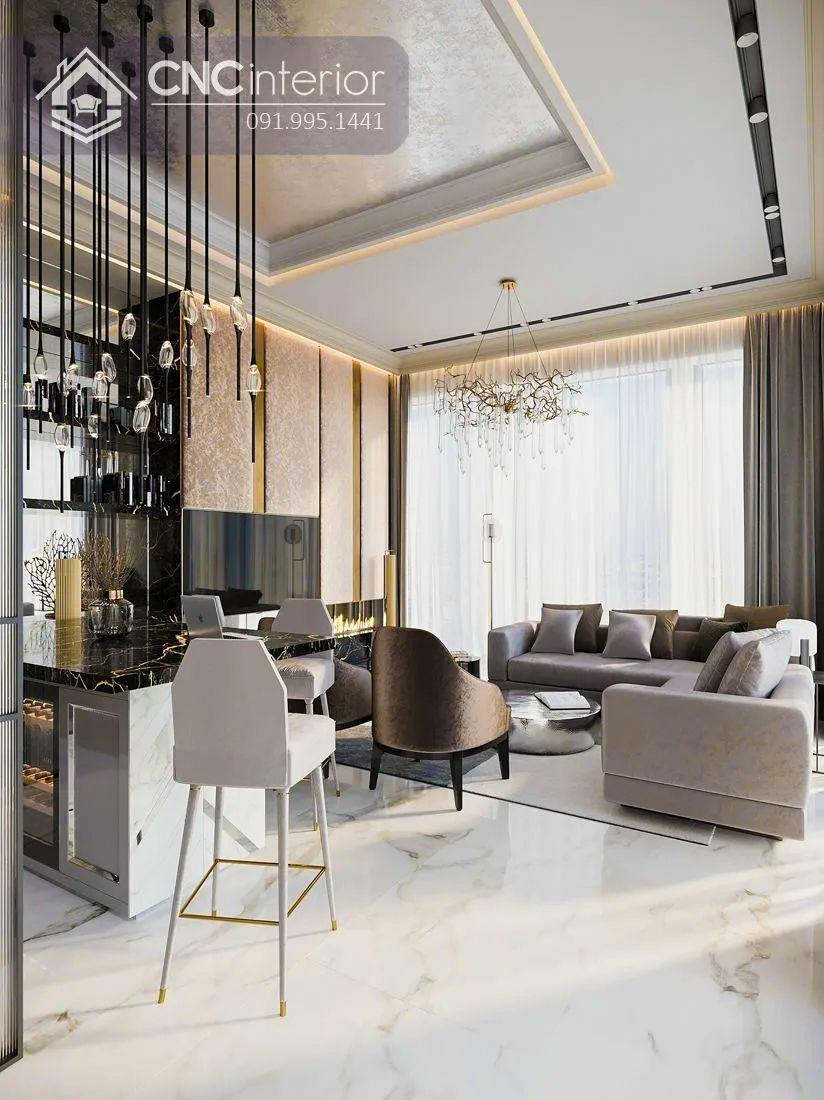 Phòng khách chung cư cao cấp 13-1