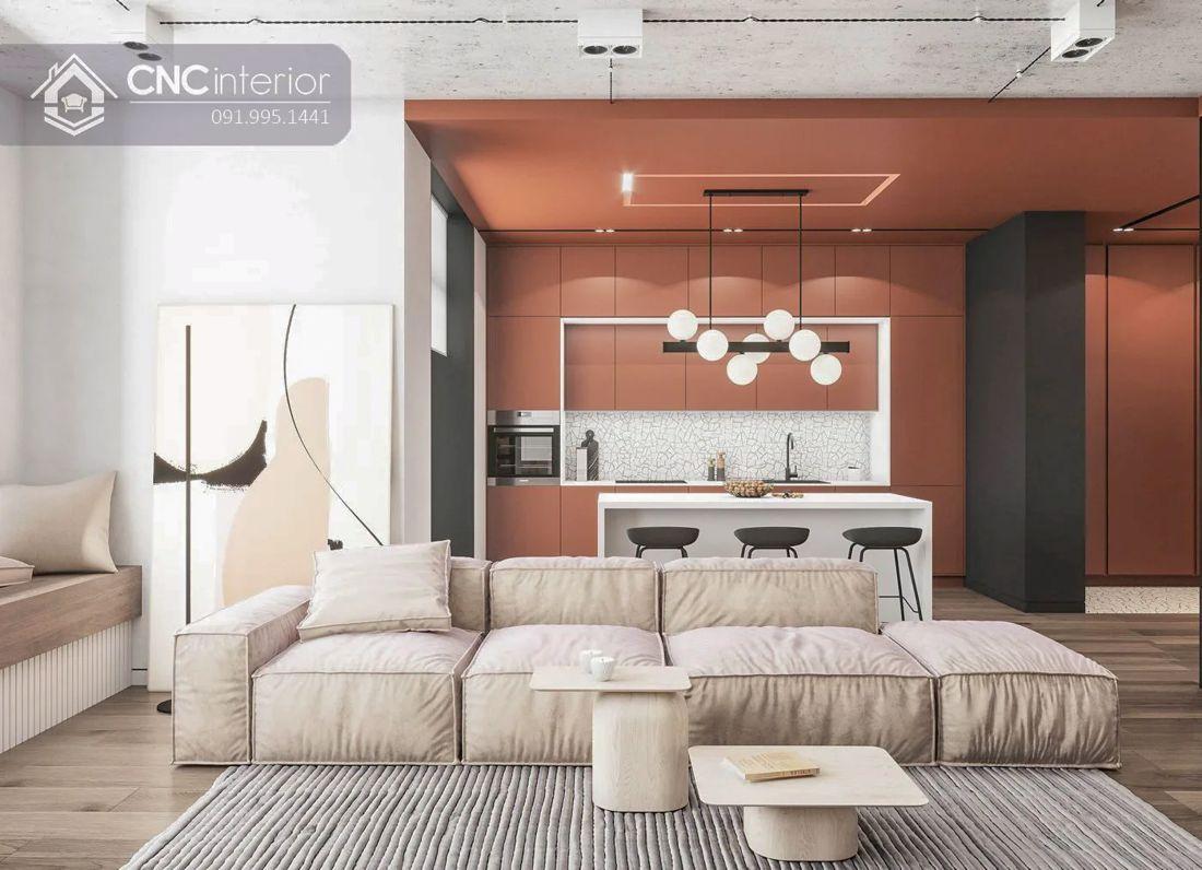 Phòng khách chung cư cao cấp 5-1