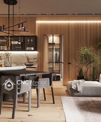 Phòng khách chung cư cao cấp  8-1