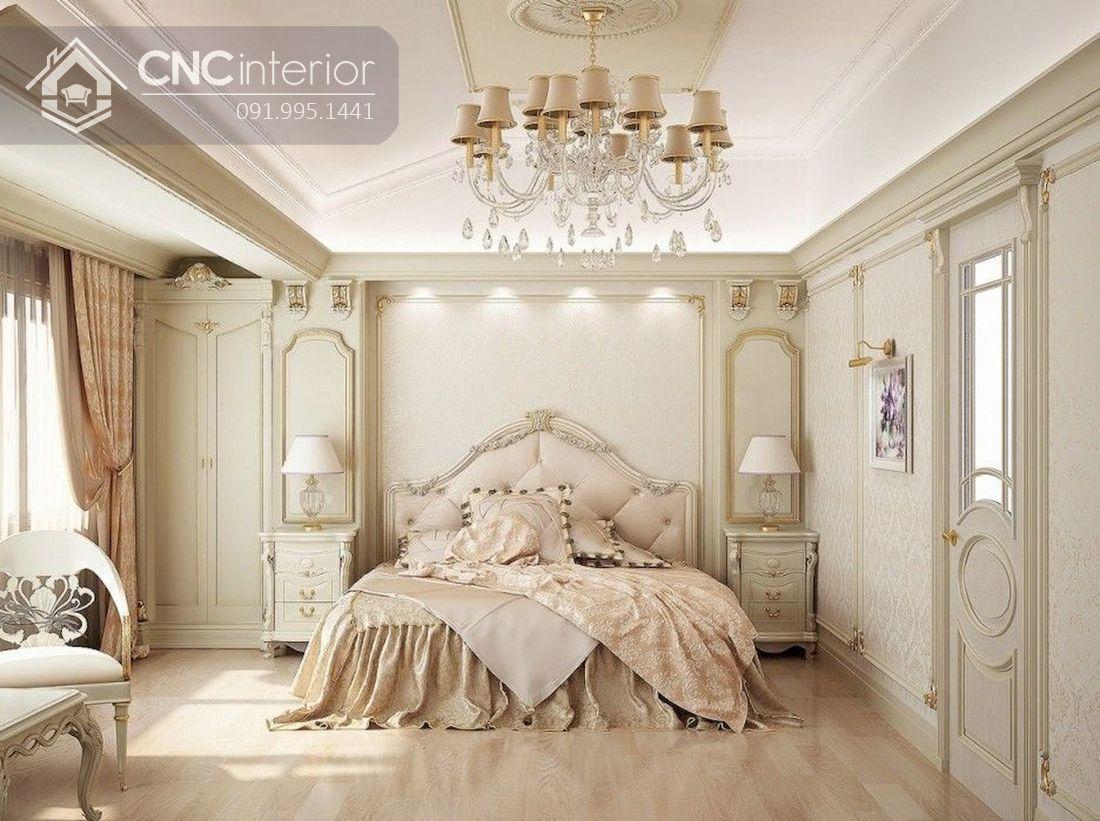 phòng ngủ master tân cổ điển 6