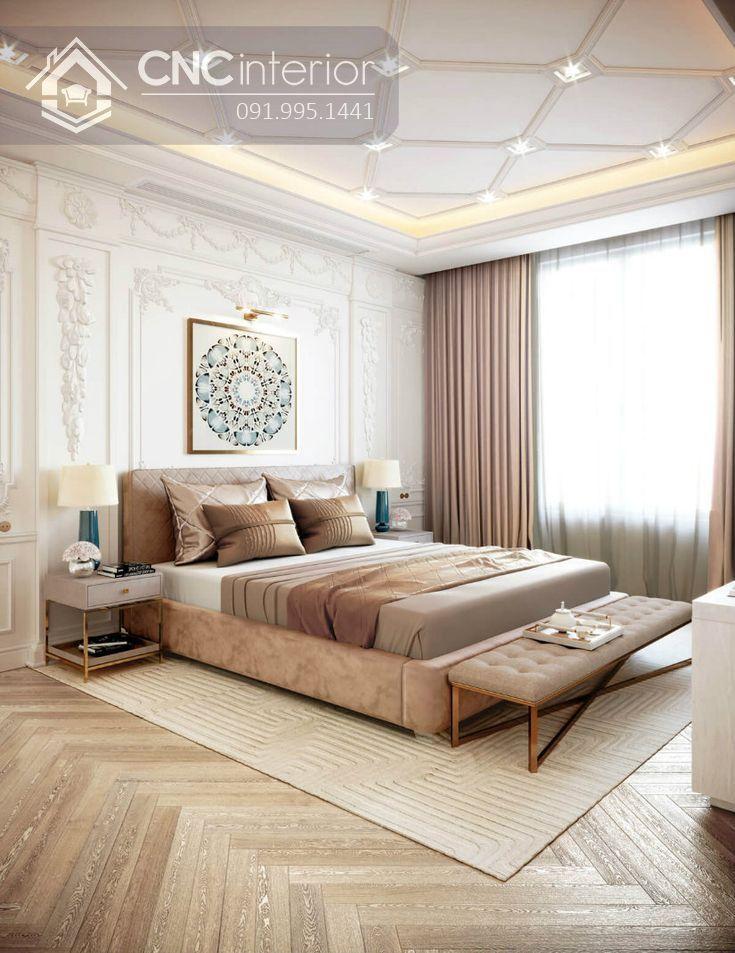 phòng ngủ master tân cổ điển 2