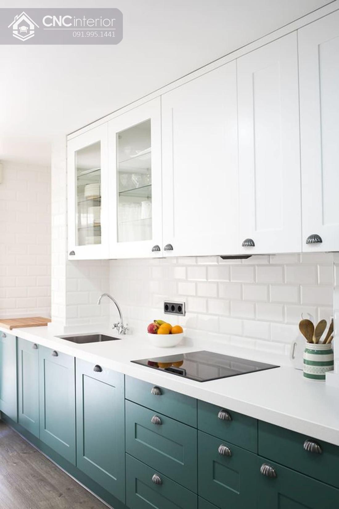 tủ bếp treo tường bằng gỗ 1