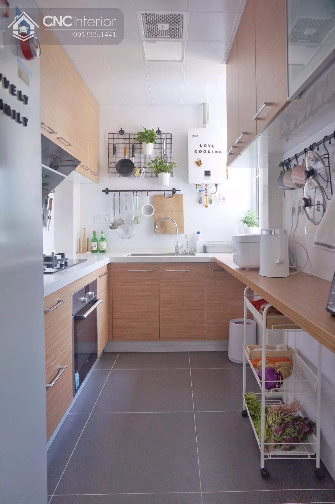 tủ bếp treo tường bằng gỗ 8