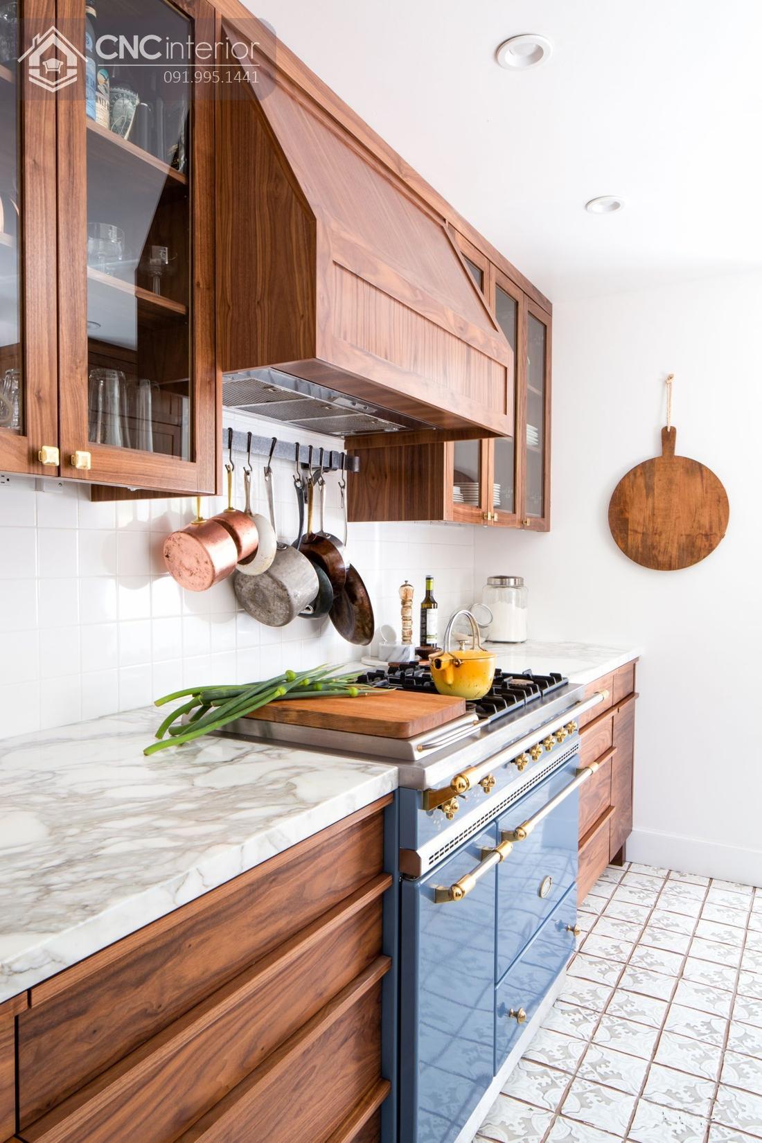 tủ bếp treo tường bằng gỗ 14
