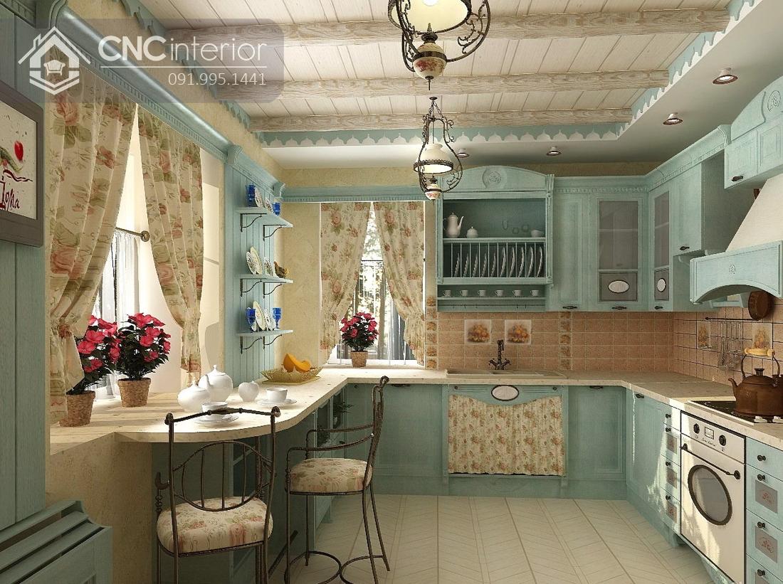 tủ bếp treo tường bằng gỗ 17