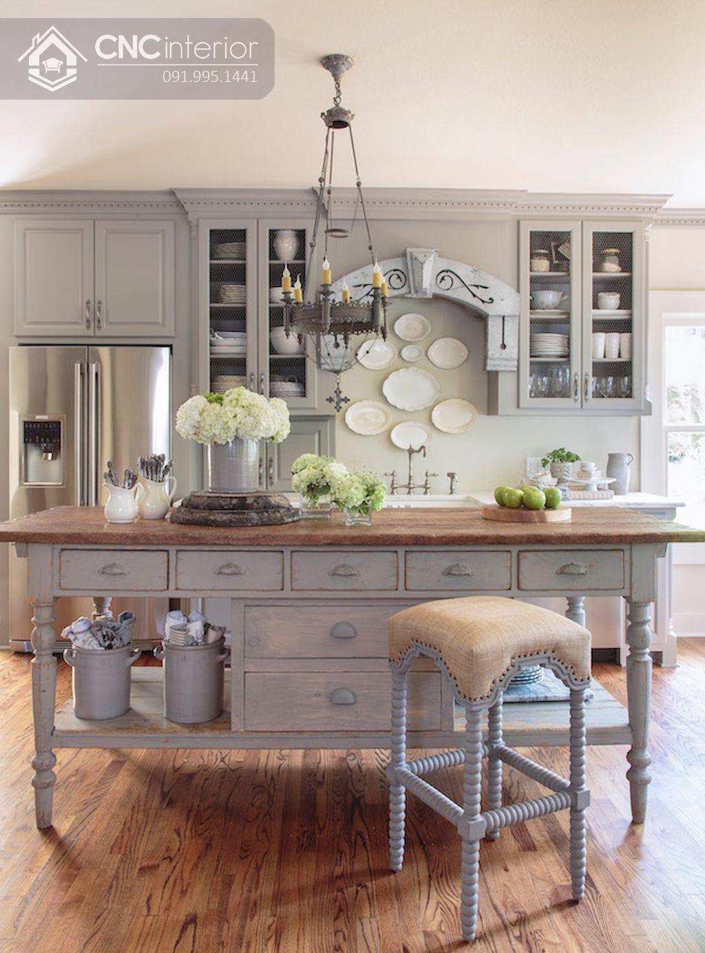 tủ bếp treo tường bằng gỗ 16