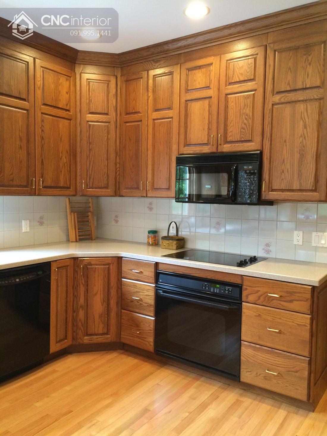 tủ bếp treo tường bằng gỗ 4