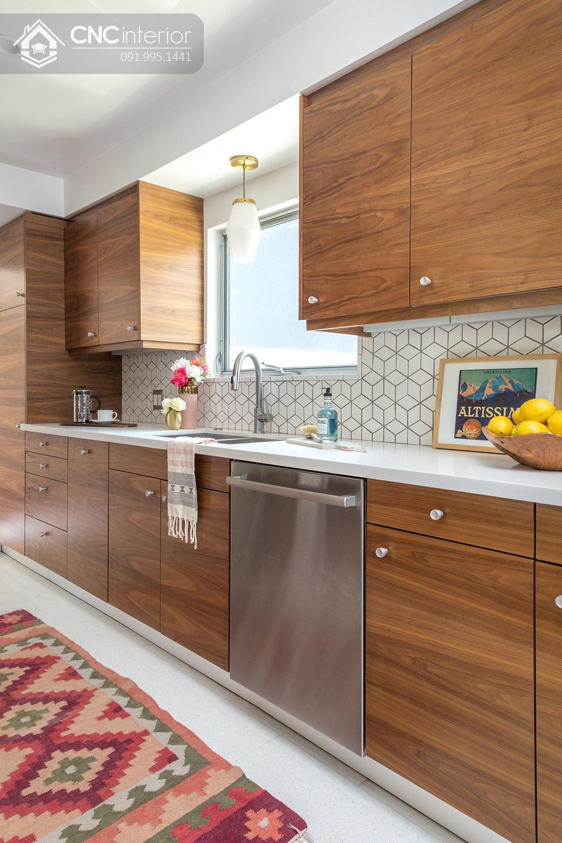 tủ bếp treo tường bằng gỗ 3