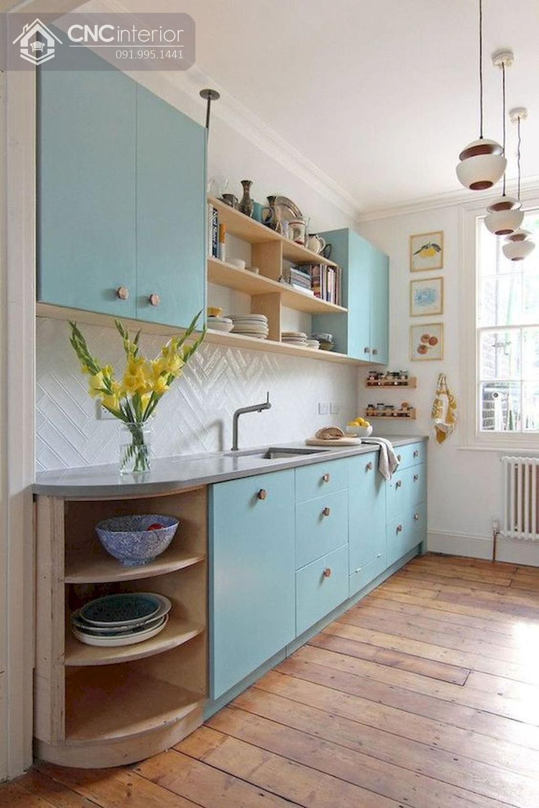 tủ bếp treo tường bằng gỗ 11