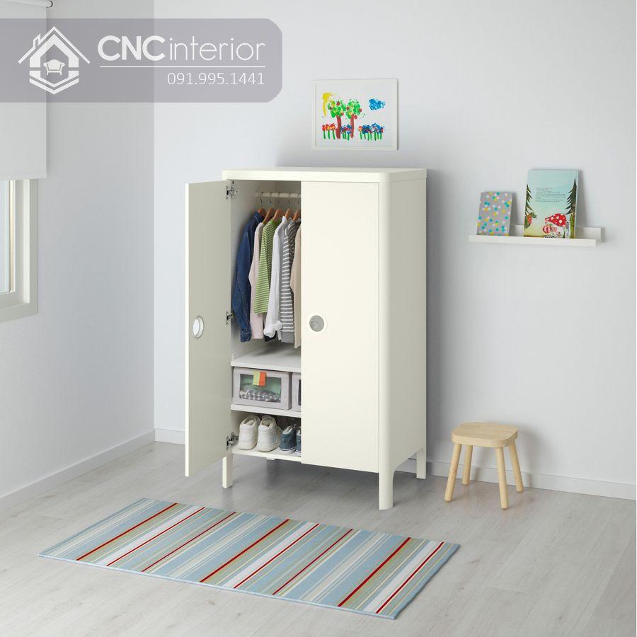 tủ quần áo trẻ em bằng gỗ MDF 2