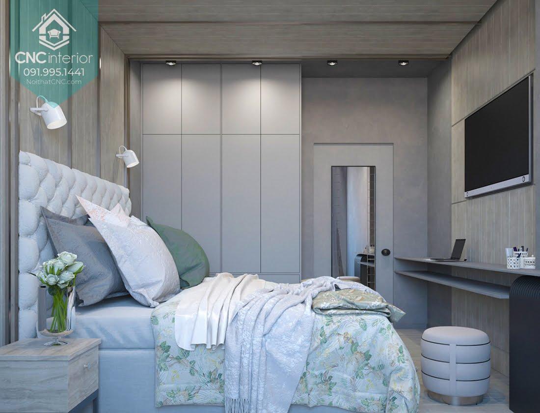 Cách bố trí phòng ngủ 12m2
