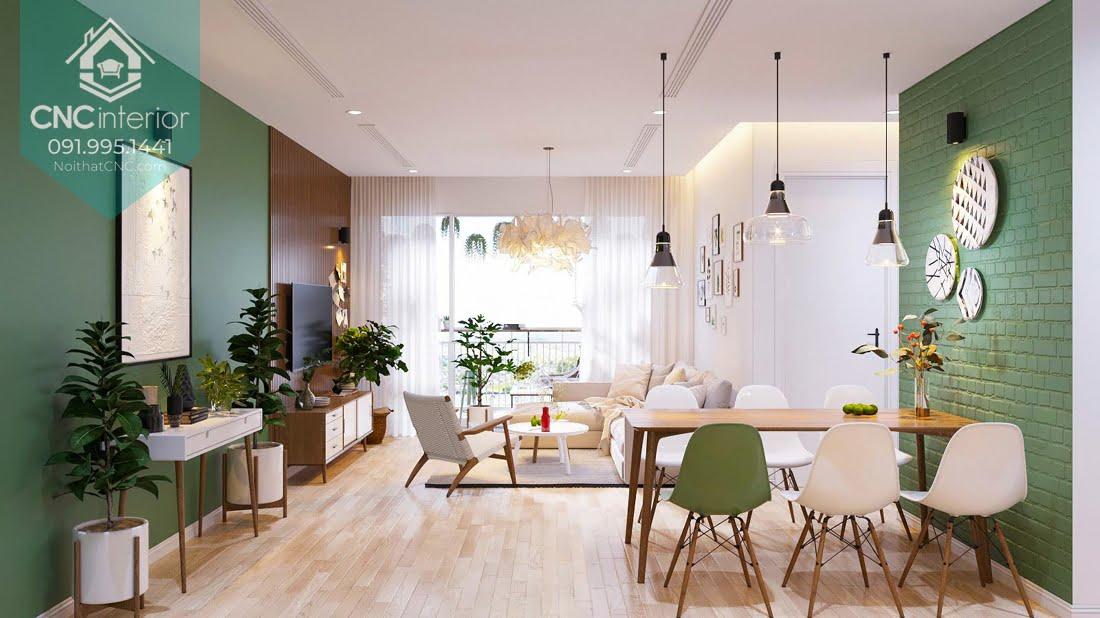 Phòng khách phong cách Scandinavian 10